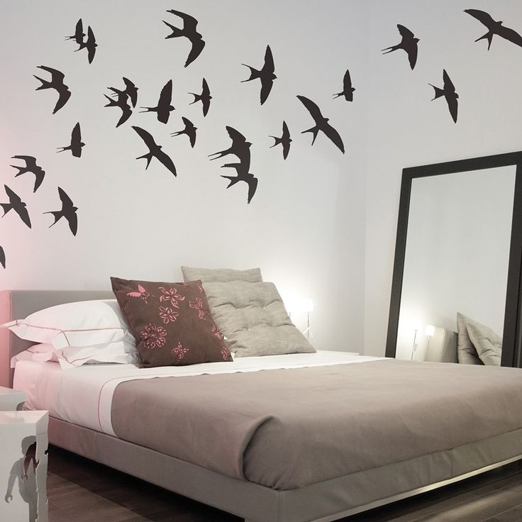 WALL STICKER in 'Swallows' design