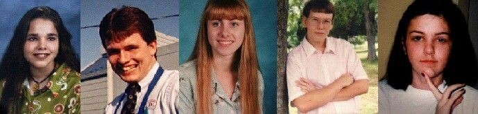 Victims Sarah Jackson, 16 [2/16/1997] Captain D's Steve Hampton, 25 [2/16/1997] Captain D's Andrea Brown, 17 [3/23/1997] McDonald's Ronald Santiago, 27 [3/23/1997] McDonald's [no photo] Robert A. Sewell, Jr, 23 [3/23/1997] McDonald's Jose Antonio Ramirez Gonzalez [survived 3/23/1997] McDonald's [no photo] Angela Holmes, 21 [4/23/1997] Baskin-Robbins [no photo] Michelle Mace, 16 [4/23/1997] Baskin-Robbins