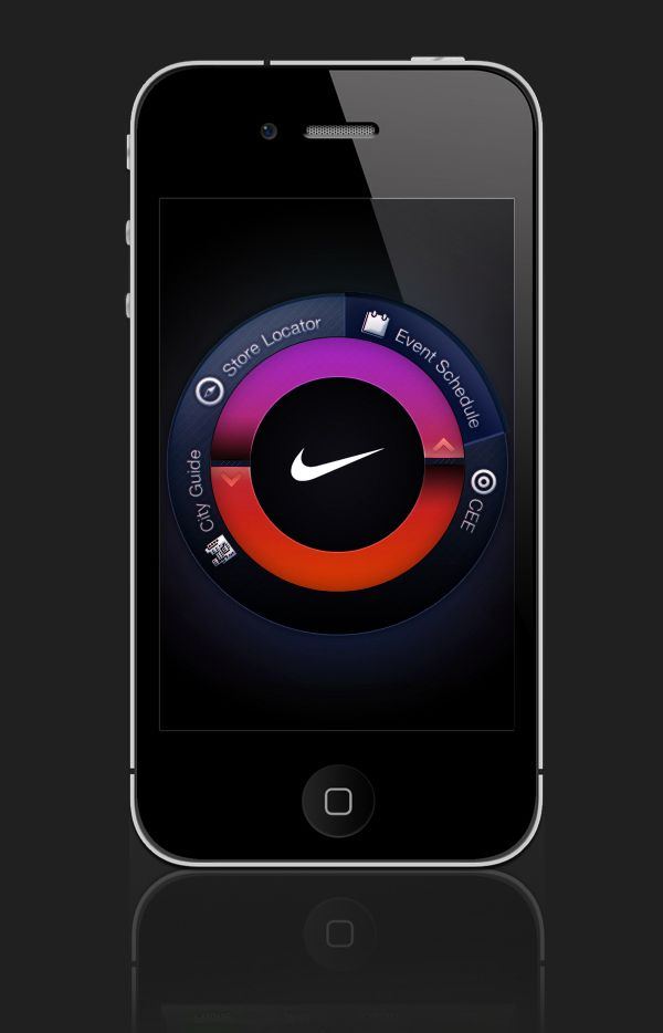 Stay up to date with daily web design news:  http://www.fb.com/mizkowebdesign    NIKE iphone UI Design on the Behance Network    #webdesign #design #designer #inspiration #user #interface #ui #web