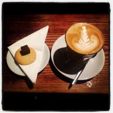Coffee, shortbread and fudge @InnAtTroway