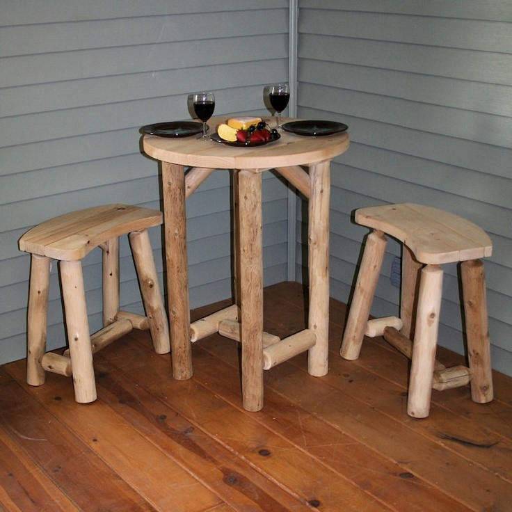 Decorating Rustic Small Porch Log Cabin Furniture Even Fits In Small Spaces Log Furniture