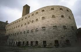 Infamous Kilmainham Gaol - As bloody ugly on the outside as were the events enacted inside and in its courtyard.