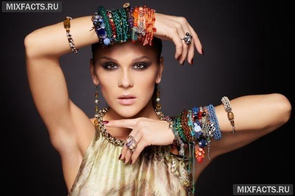 Модные массивные украшения: ожерелья, подвески, кольца и браслеты (фото)