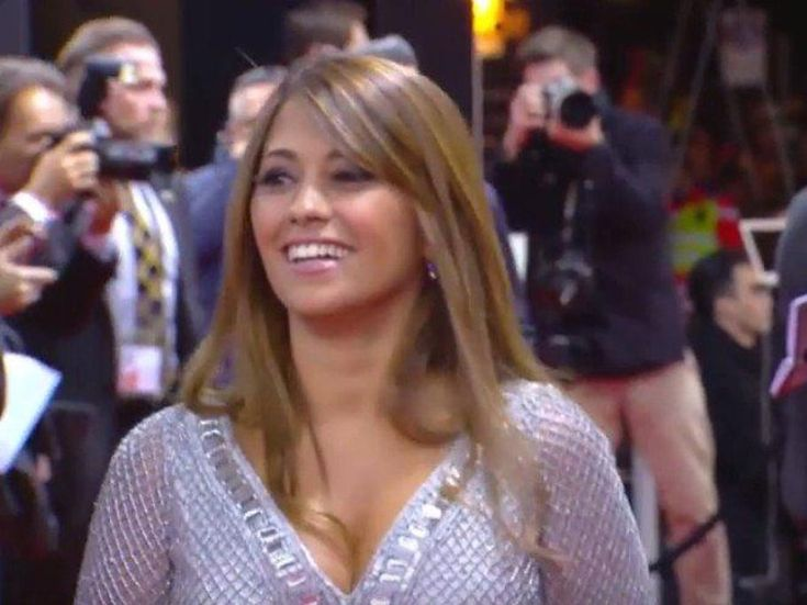 La mujer de Messi, Antonella Roccuzzo.