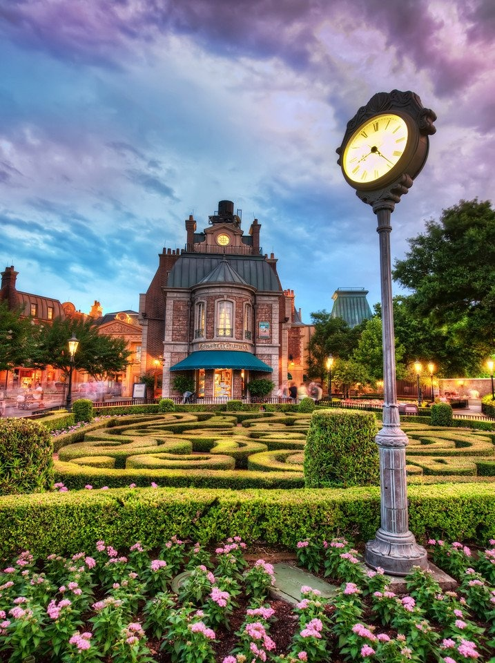 These little fabrications of countries around Epcot try really hard at being authentic, and they are often quite successful! from #treyratcliff at http://www.StuckInCustoms.com - all images Creative Commons Noncommercial