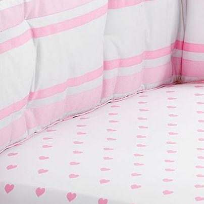 Pottery Barn Kids Heart Crib Sheet With Images Bed