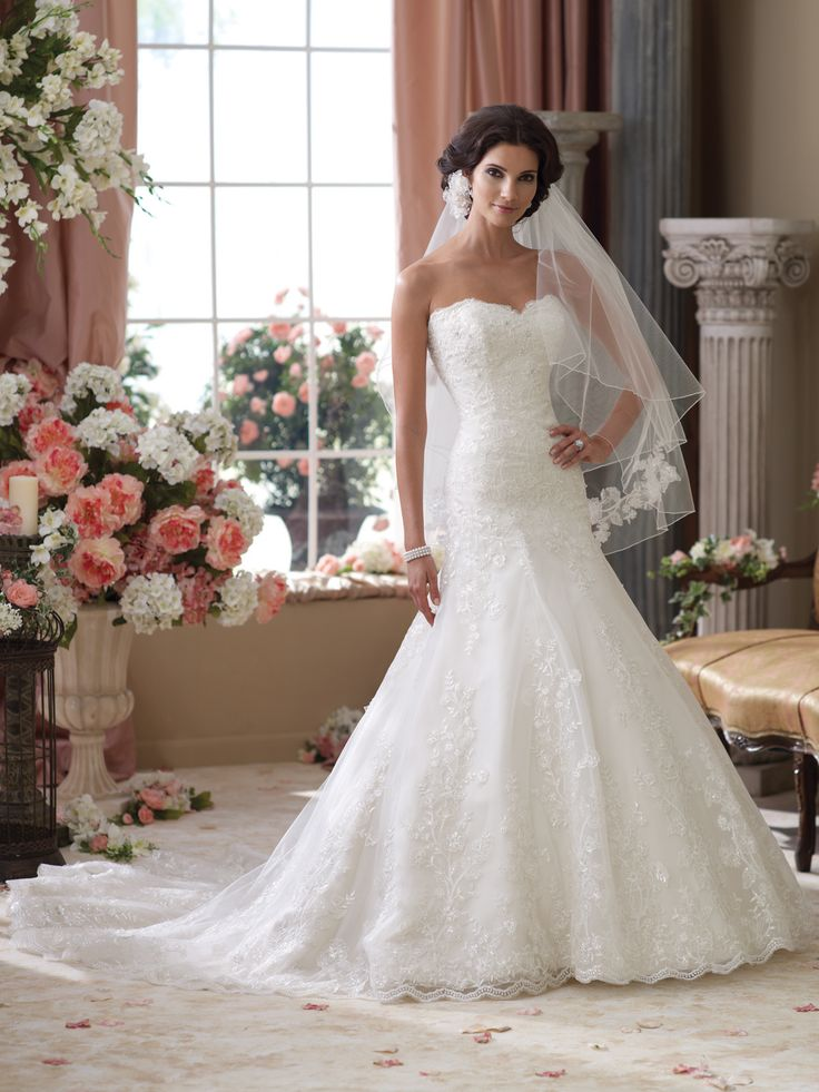 28 best david tutera for mon cheri spring 2014 collection for Wedding dresses chattanooga tn