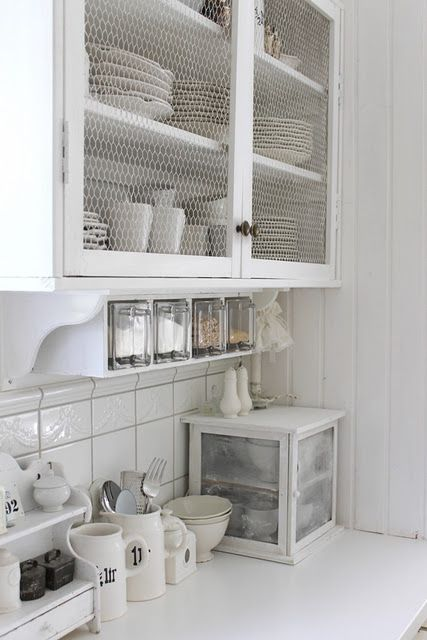 simple and organized kitchen