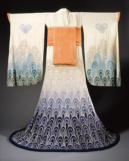 ♛Woman's Kimono (1923) by Erte (Romain de Tirtoff)