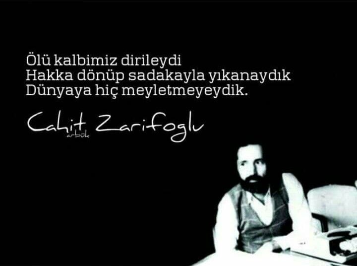 Dünyaya hiç meyletmeyedik.... #acz