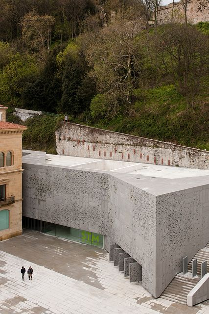 San Telmo Museum I  Architect for new extension: Nieto Sobejano Arquitectos.