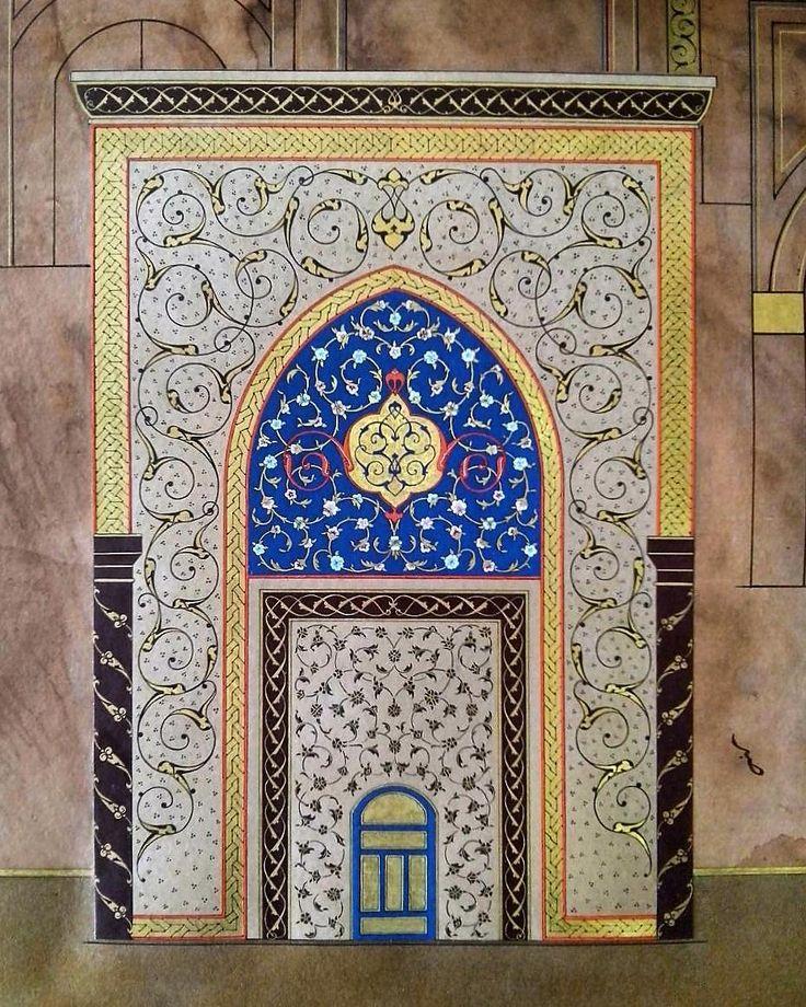 ". ""Cennetin sabır kapısı"" Diploma projesinden ayrıntı Eser: Betül Özer/@betul.ozer.54 . #details#tezhip #tezhipsanatı #gelenekselturksanatlari #turkishart #art #tazhib #traditional #arts #halkar #turkishart #art #gelenekselsanatlar #zahriye#klasiksanatlar#zahriye#calligraphy#tezhip#خط#illumination#proje#levha#sanat#desen#tasarim#gelenekselsanatlar#istanbulcity#turkiye#instagram_turkey#instaart#instaartwork#instadesing#indesign#türkiye#istanbul"