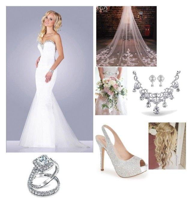 """""""Wedding part 2"""" by camryngarland ❤ liked on Polyvore featuring Epic Formals, Lauren Lorraine and Bling Jewelry"""