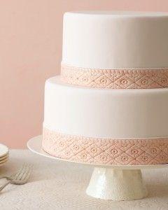 Fashion-Inspired Wedding Cakes  Martha Stewart Weddings Good Cake for everyday  #cakewithcream  #confectionery