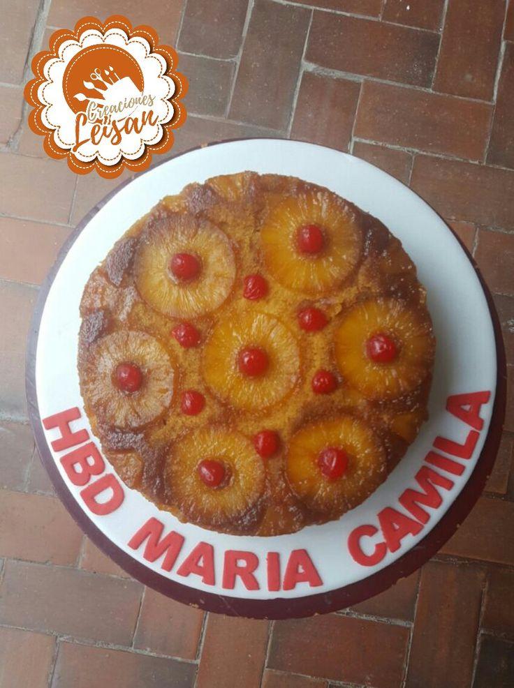 Torta de piña #tortasleisan
