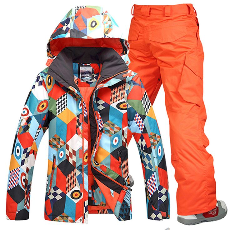 Free Shipping 2017 Gsou snow men ski suit pants   jackets/set winter sports snowboard men's skiing sets waterproof windproof *** AliExpress Affiliate's buyable pin. Click the image to visit www.aliexpress.com