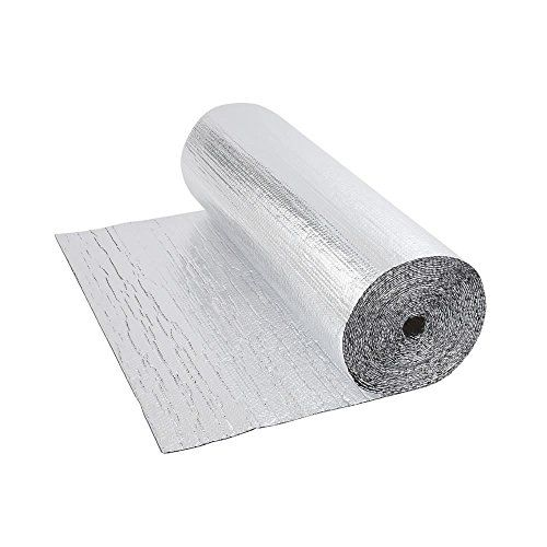 Biard Double Aluminium Double Bubble Foil Wrap Insulation - 12m x