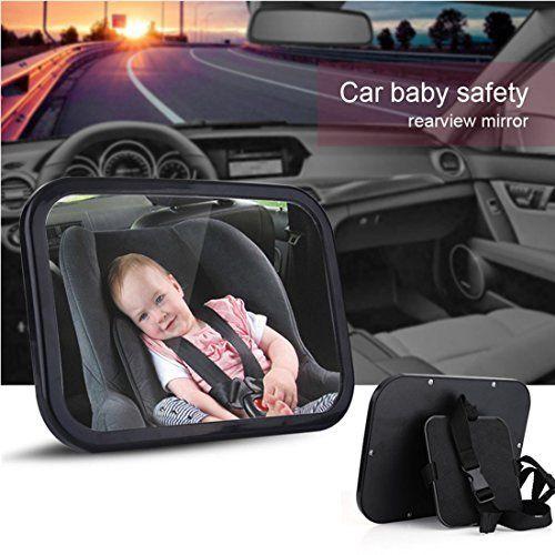 Miroir Auto Bébé PLUIESOLEIl avez Une Rotation 360°100% incassable Pour Bébé Miroir de Voiture: N'aimeriez-vous pas savoir que votre bébé…