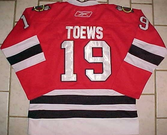 quality design 669aa 194b3 Jonathan Toews #19. Chicago Blackhawks. Hockey Jersey. 100 ...