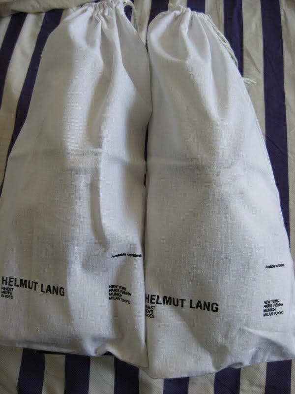 Rare Helmut Lang Sneakers New In Box