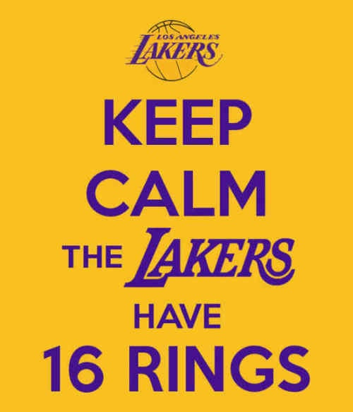 Lakers: The Lakers, Art Lakers, 16 Rings, Lakers Baby, Sports, Lakers 16, Keep Calm