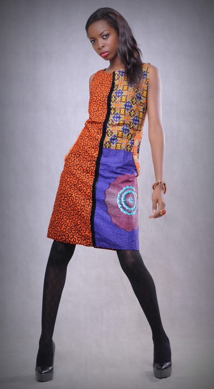 African Prints in Fashion: Fresh and Cheeky: Design for Love