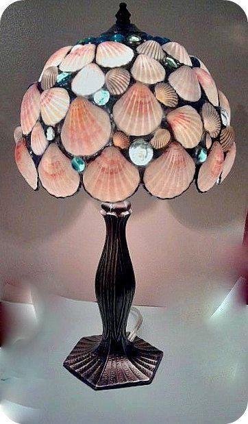Seashell Lampshade Baby Room Pinterest Mermaid