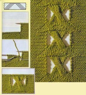 Tejido Facil: Ideita original para tejido a dos agujas (4)