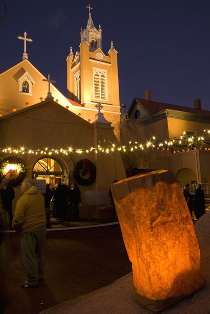 Christmas in Old Town Albuquerque, New Mexico