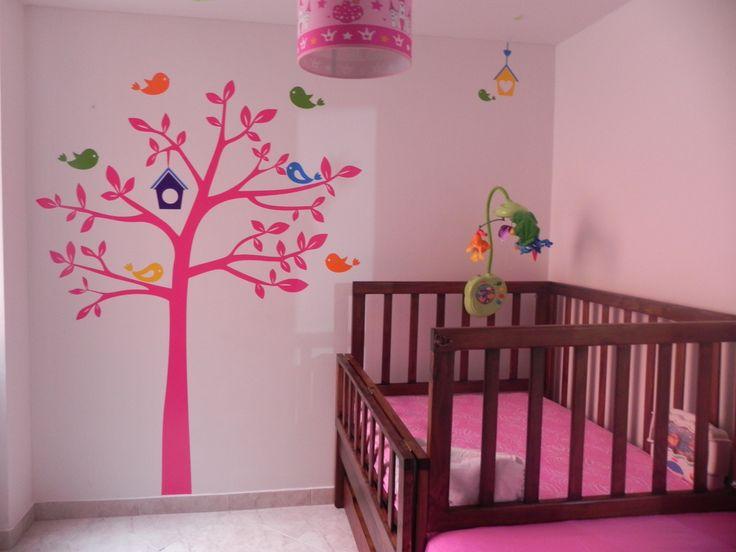 Decoración / Plotter de corte / vinilos decorativos / Habitación Bebé / Tendencia / Decoración de interiores Pregúntanos por más: http://173estudiocreativo.com/