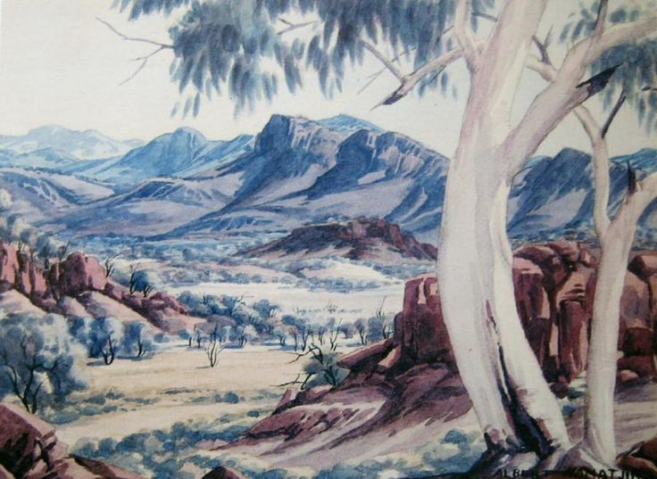 Works on Paper - Albert Namatjira - Australian Art Auction Records