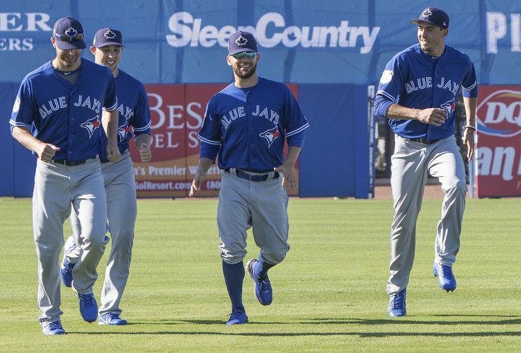 https://flic.kr/p/Ran9o9 | Fun on the run with Blue Jays' pitchers