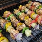 Chili-Lime Chicken Kabobs - an easy to make healthy din recipe! fav-recipes
