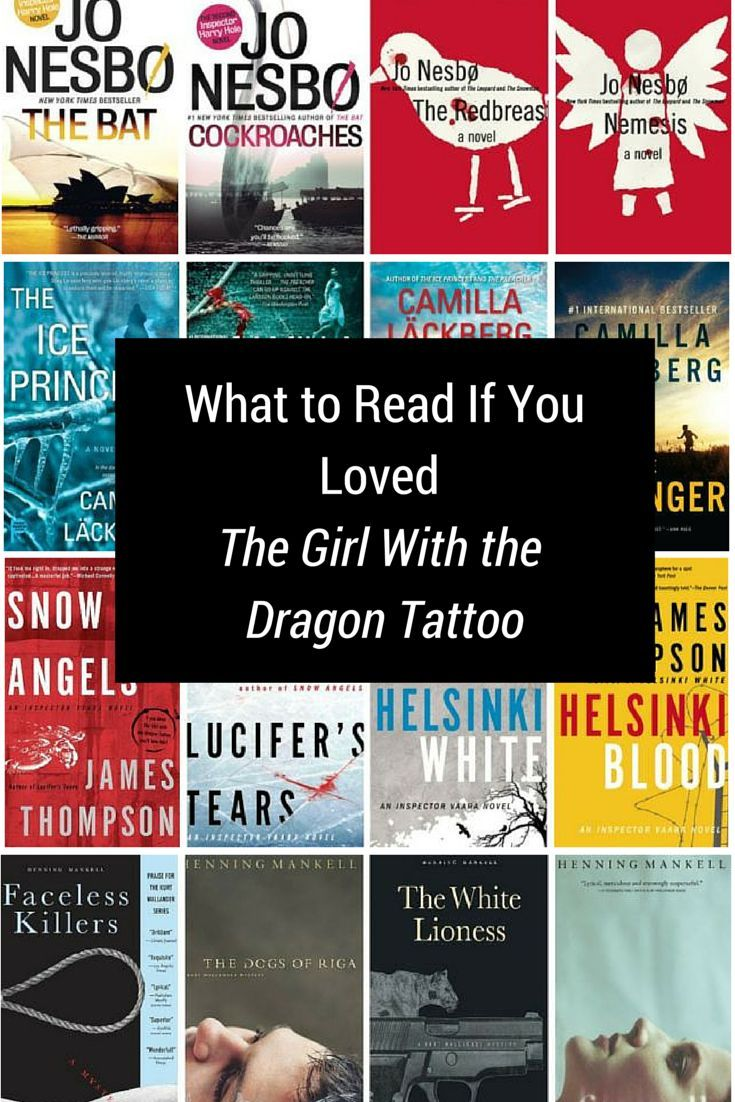 9 Series to Read If You Love 'The Girl With the Dragon Tattoo'