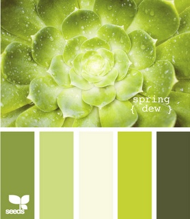 I'm such a sucker for green. Now I just need to find the felt to match it. - design seeds: spring dew