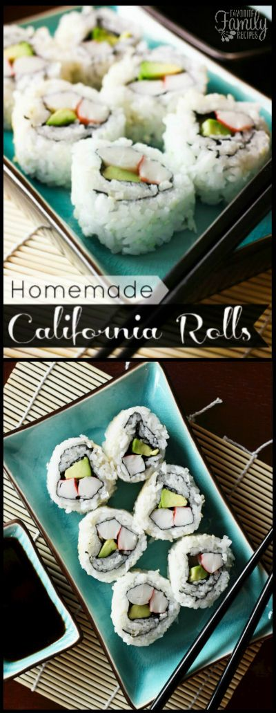 I+could+eat+California+Rolls+all+day+long+but+they+are+so+expensive+to+buy+here!+They+are+much+cheaper+to+make+and+not+as+difficult+as+you+may+think!+via+@favfamilyrecipz