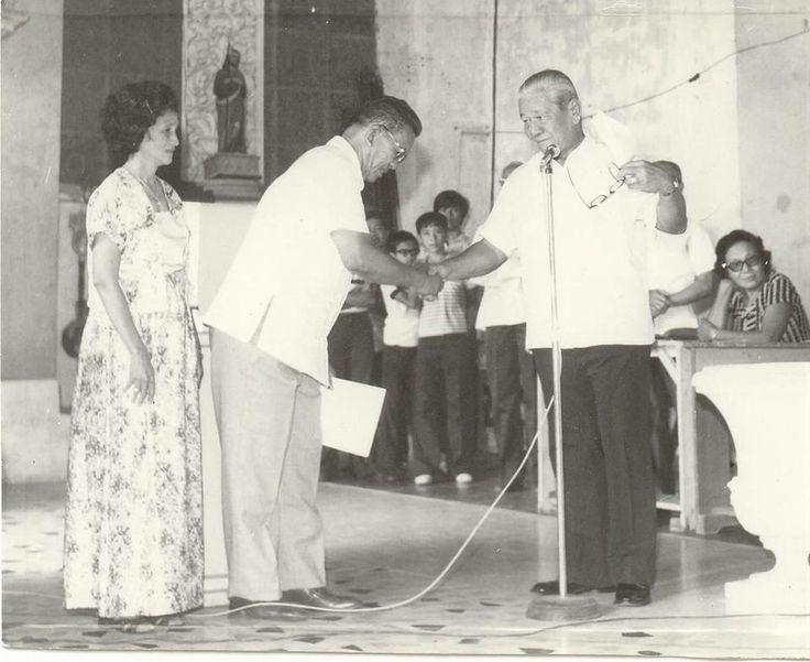 Former Dulag Mayor  Mayor Faustino A. Serrano