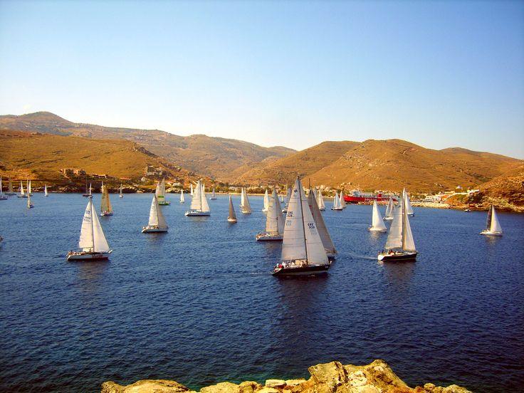 Sailing in Kea!