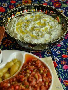 Mozaika życia: Cacik – wersja turecka prostego meze