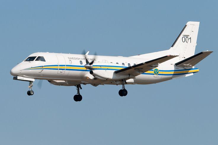 Saab 340 TP 100 Fuerza Aérea Sueca