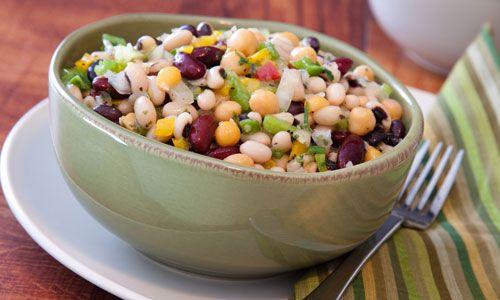 Salade-de-légumineuses