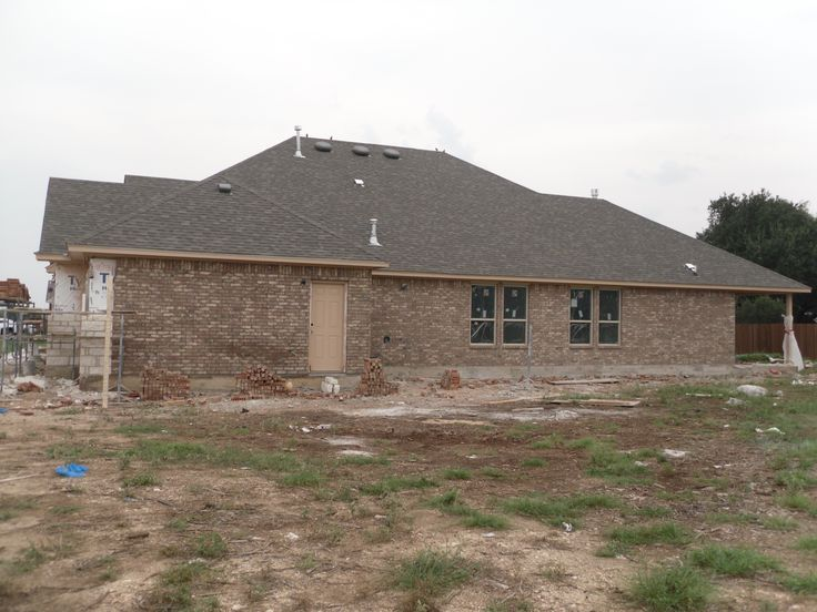 Brick Almost Done 9 1 16 Brick Color Is Adobe Wells By
