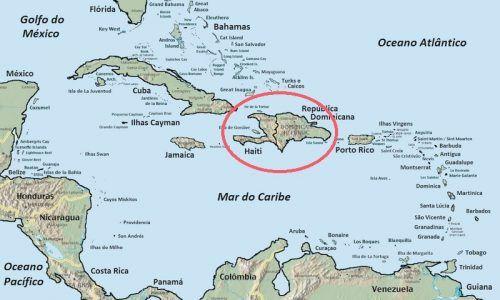 Mapa de la Republica Dominicana y Haiti (Foto: Wikimedia)