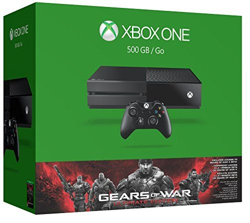 News Xbox One 500GB Console - Gears of War: Ultimate Edition Bundle   buy now     $345.96 Xbox One Gears of War: Ultimate Edition Bundle, features a full-game download of Gears of War: Ultimate Edition, the Supersta... http://showbizlikes.com/xbox-one-500gb-console-gears-of-war-ultimate-edition-bundle/