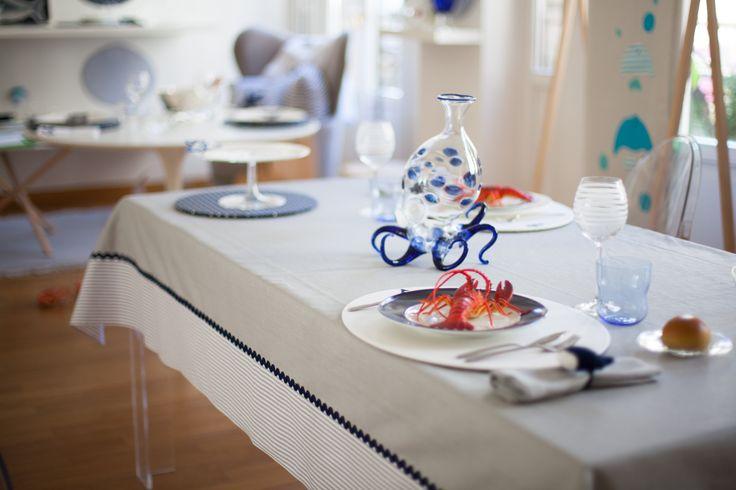 Octopus's Garden: la nuova collezione estiva 2014 di #Centrotavola #Milano. Tavola collezione octopus's garden.  Octopus's garden dinnerware.