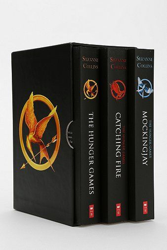 The Hunger Games Trilogy Boxed Set By Suzanne Collins.