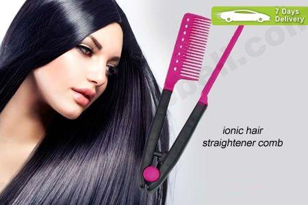 Luruskan rambut yang ikal bergelombang dengan sisir khusus Ionic Hair Straightener Comb hanya Rp 12.900 http://groupbeli.com/view.php?id=265