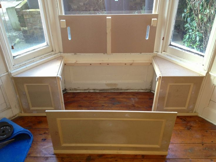 1000 images about bench seat storage project on pinterest for Building window design
