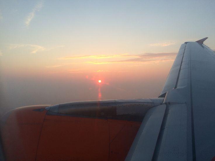 Flight back to Amsterdam