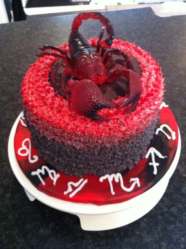 Scorpion cake | cakes | Pinterest | Best Scorpion, Cake ...